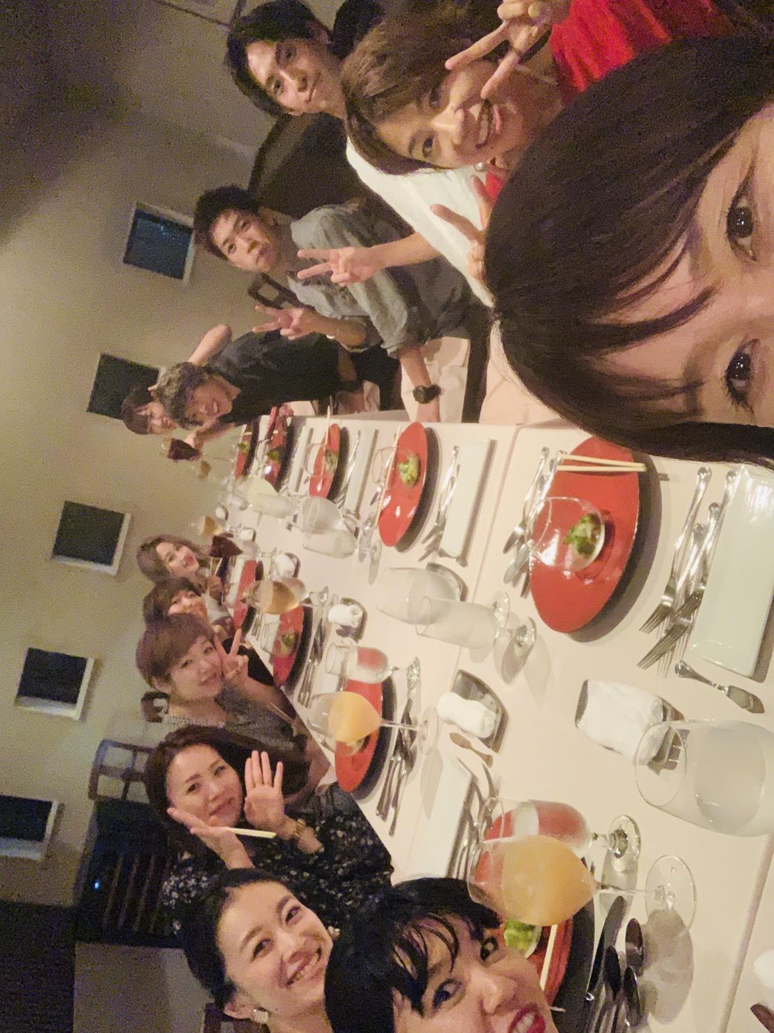 サロン 久しぶりの食事会!✨