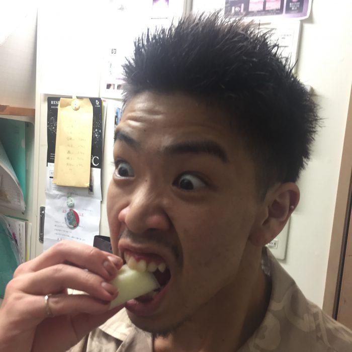 レモンメロン食べました